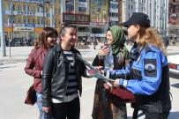 TOPLUM DESTEKLI POLISLIK - Polis, Kadınlar Gününü Kutladı