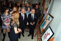 ASKERLİK ŞUBESİ - Salihli'de 8 Mart'a Özel Resim Sergisi