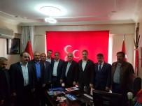 Siirt'te AK Parti'den MHP'ye Ziyaret