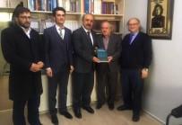 TÜRKIYE YAZARLAR BIRLIĞI - TYB Erzurum Şubesi'nin Kitap Takdimli Ziyaretleri Devam Ediyor