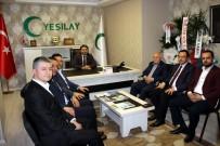 AİLE BAKANLIĞI - Yaşar Karayel'den Yeşilay'a Hayırlı Olsun Ziyareti