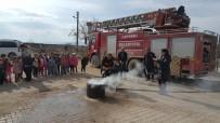 YANGIN TATBİKATI - Anaokulu Öğrencilerine Yangın Tatbikatı