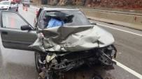 SİNAN ŞEN - Antalya'da Trafik Kazası Açıklaması 1 Ölü, 5 Yaralı
