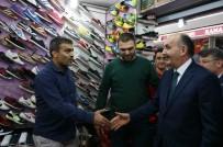 BAĞLAMA - Bakan Müezzinoğlu Mısır Çarşısı Esnafını Ziyaret Etti