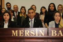 KADıN HAKLARı  - Baro Başkanı Er Açıklaması 'Provokasyon', Kadın Avukatlar Açıklaması 'Amasız Özür Bekliyoruz'