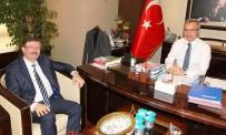 ESKIHISAR - Başkan Köşker, İSU Genel Müdürü Bayram'ı Ağırladı