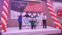 GÜMÜŞ MADALYA - BEÜ Kick Boksta 7 Madalya Kazandı