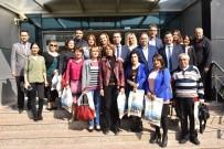 ÇALIŞAN KADIN - Büyükşehir'den Kadın Gazetecilere Hediye