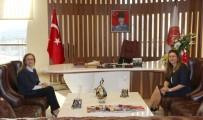 GÖREV SÜRESİ - Defterdar Ercoşman, Rektör Kılıç'a Veda Ziyaretinde Bulundu