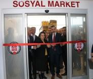 ÇIÇEKLI - Edremit'te Sosyal Market Ve Giyim Mağazası Açılışı