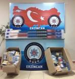 Erzincan Da Kaçak Sigara Operasyonu