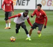 FLORYA METIN OKTAY TESISLERI - Galatasaray, Gençlerbirliği Maçı Hazırlıklarını Sürdürdü