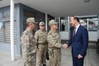 ABDULLAH ERIN - Jandarma Lojistik Komutanı Tümgeneral Ali Özkara'dan Vali Erin'e Ziyaret