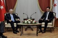 HÜSEYIN ÖZGÜRGÜN - KKTC Başbakan Özgürgün, Başbakanı Binali Yıldırım İle Bir Araya Geldi