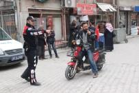 ELEKTRİKLİ BİSİKLET - Konya Polisinden Çalıntı Motosiklet Denetimi