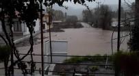 SU TAŞKINI - Marmaris'te Aşırı Yağış Su Taşkınlarına Neden Oldu