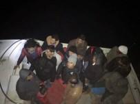 KAZANLı - Mersin'de Akdeniz'e Açılan 18 Kaçak Göçmen Yakalandı