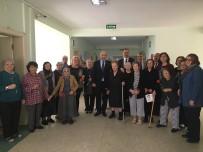 EN YAŞLI KADIN - Milletvekili Ilıcalı' Dan Huzur Evi Yaşlı Bakım Ve Rehabilitasyon Merkezi'ne  Ziyaret