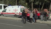 NECMETTIN CEVHERI - Otomobil Kamyonetle Çarpıştı Açıklaması 5 Yaralı