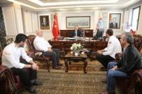 SUAT ŞAHIN - Pastacılar Ve Aşçılar Derneği Başkan Büyükkılıç'ı Ziyaret Etti