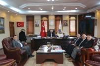 MUSTAFA AYDıN - Vergi Daire Başkanı Çelik'den Yılmazer'e Ziyaret