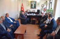 ŞENOL TURAN - Başkan Eşkinat Esnaf Ve Meslek Odaları Ziyaretlerine Devam Ediyor