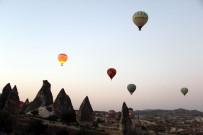 KUŞ BAKıŞı - Kapadokya'da Balon Yolculuğu Kamerada