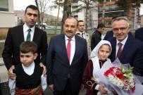 Maliye Bakanı Ağbal İle Bilim Sanayi Ve Teknoloji Bakanı Özlü, Bayburt'ta