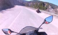 Motosiklet Kazası Kask Makerasında