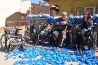MAVİ KAPAK - Örnek Dede-Torun Açıklaması Mavi Kapaklarla 88 Tekerlekli Sandalye