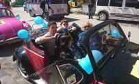 VOLKSWAGEN - Rengarenk Vosvoslar Otizmli Çocuklar İçin Gaza Bastı