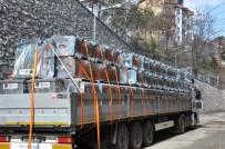 TUNCELİ VALİSİ - Tunceli'ye 125 Adet Çöp Konteyneri Hibe Edildi