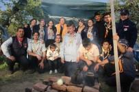 KOCADERE - Aydınlı İzciler Çanakkale İçin Kampa Girdi
