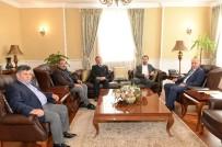 MIHENK TAŞı - Başbakan Başdanışmanı Şen'den Vali Azizoğlu'na Ziyaret