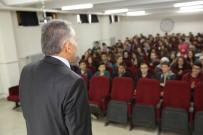 OKUL BİNASI - Başkan Büyükkılıç Mustafa Eminoğlu Anadolu Lisesi Öğrencileri İle Buluştu