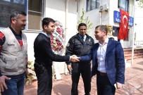 RECEP ÖZTÜRK - Başkan Kuzu'dan Polislere Ziyaret