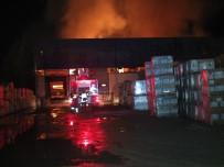 HASAN YAMAN - Bilecik'te Korkutan Depo Yangını