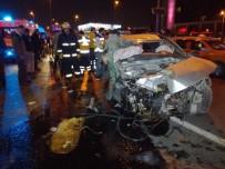 E-5 KARAYOLU - E-5 Karayolu'nda Feci Kaza Açıklaması 1 Ölü, 2 Yaralı