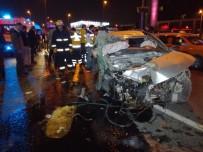 E-5 KARAYOLU - E-5 Karayolu'nda feci kaza: 1 ölü, 2 yaralı