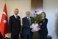 Emniyet Teşkilatından Vali Köşger'e Ziyaret