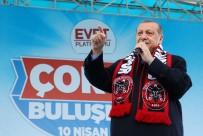 Erdoğan'dan Kılıçdaroğlu'na Açıklaması 'Niye Kaçtın ?'