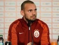 WESLEY SNEIJDER - Galatasaray'da Wesley Sneijder zirvesi
