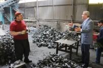 Milletvekili Kaleli Sanayi Esnafını Ziyaret Ederek Destek İstedi