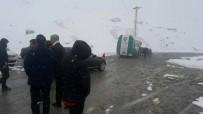 ERDOĞAN BEKTAŞ - Ovit Geçidi Kar Nedeniyle Ulaşıma Kapandı