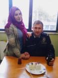 YENIKENT - Polis Haftasını Eşine Aldığını Pastayla Kutladı