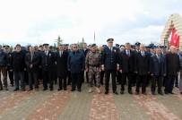ÖZEL HAREKAT POLİSLERİ - Sivas'ta Polis Şehitliğinde Hüzünlü Anma