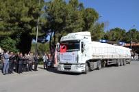 KIRTASİYE MALZEMESİ - Suriyeli Türkmen Öğrencilere Muğla'dan Kırtasiye Yardımı