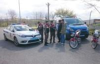 Trafiği Tehlikeye Düşüren Motosikletli Gençlere Ceza