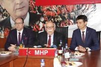 NABI AVCı - Bakan Avcı, MHP İl Başkanlığını Ziyaret Etti