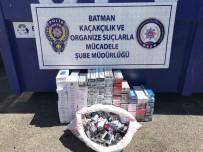 Batman'da Piyasa Değeri 51 Bin TL Olan Kaçak Sigara Ele Geçirildi